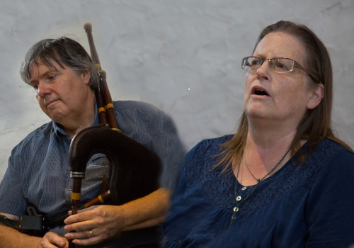 The Life, Times and Music of Robbie Burns with John & Caroline Bushby